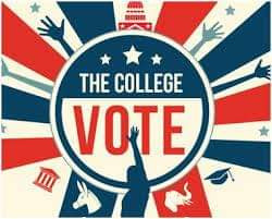 MYTH #6 - College Students have to vote where their parents live.