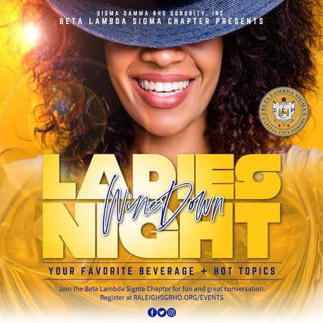 Ladies Night - Wine Down