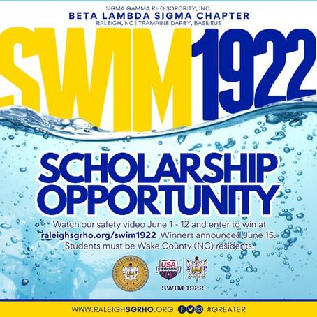 Swim 1922 - Swim Lesson Scholarships