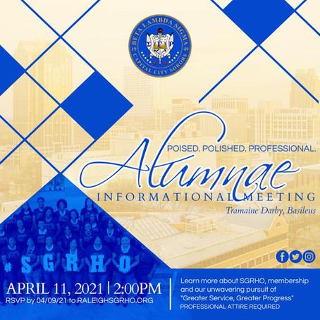 Spring Informational Meeting