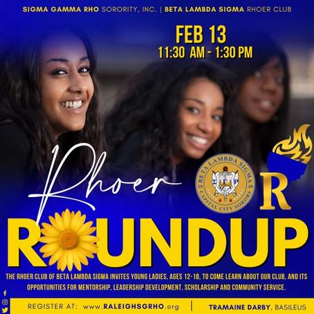 Rhoer RoundUp!