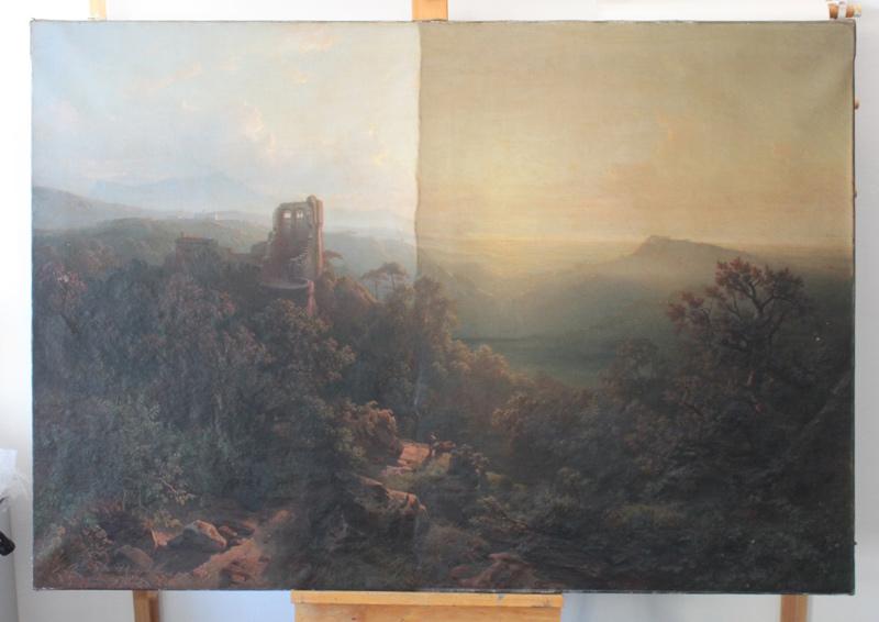 Morgenlandschaft von A. Behrendsen