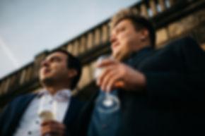 Hochzeit in Dresden am Weinberg - Hochzeitsfeier am Lingnerschloss