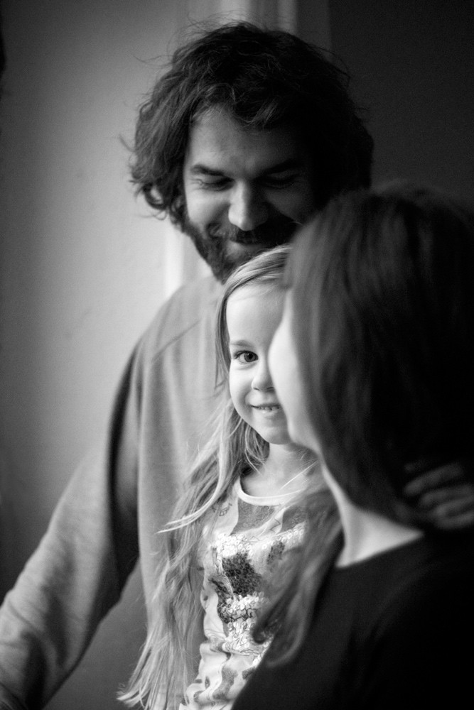 Familienfotografie drinnen