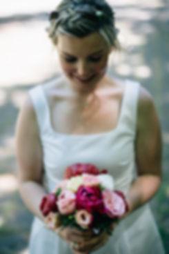 Brautstrauß- Hochzeit im May im Weißen Haus in Markkleeberg in Leipzig