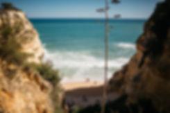 Strand Praia da Marinha in Portugal an der Algarve