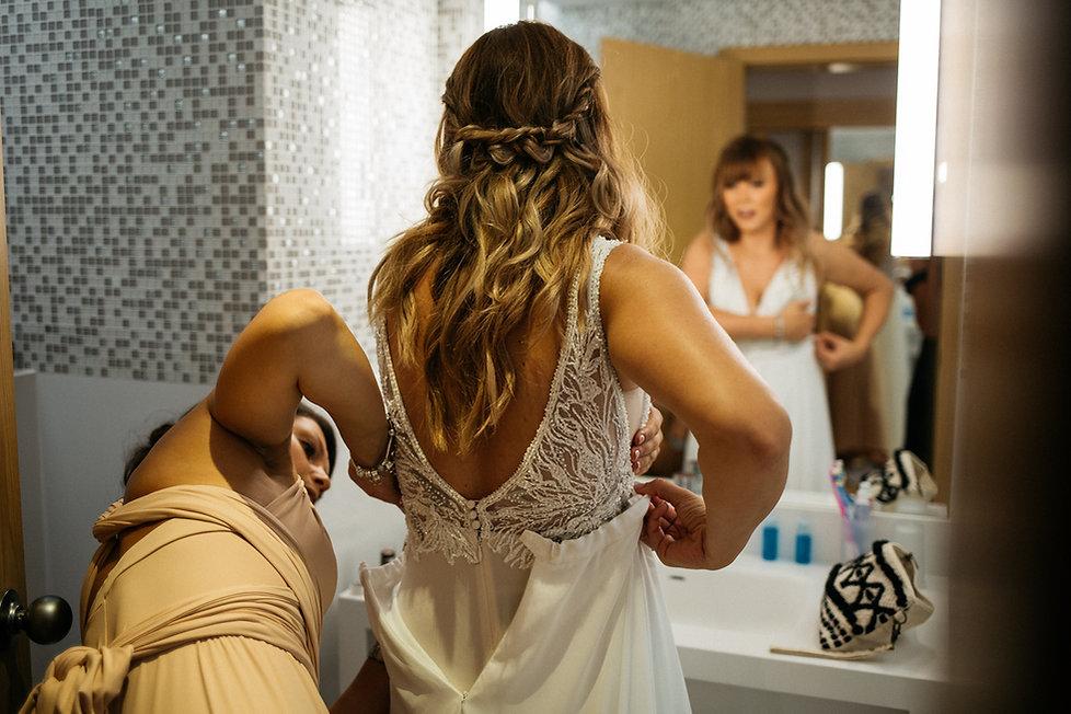 wedding Hochzeit Portugal Algarve getting ready Braut