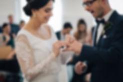 """Hochzeit in Dresden - standesamtliche Trauung im Stadtmuseum """"Landhaus"""" in der Altstadt - Ringtausch"""