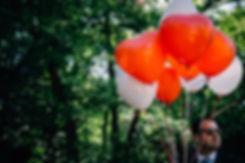 Luftballon Herzen - Hochzeit im May im Weißen Haus in Markkleeberg