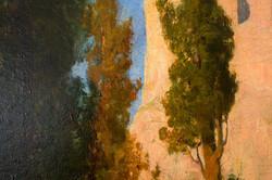 Landschaftsgemälde von V. Avanzi