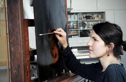 Diplom Restauratorin Mandy Hellinger