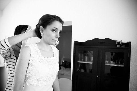 DIY Hochzeit auf Gut Wendgräben - getting ready
