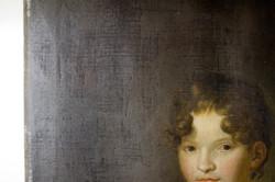 """Gemälde """"Mädchen mit Stickrahmen"""""""