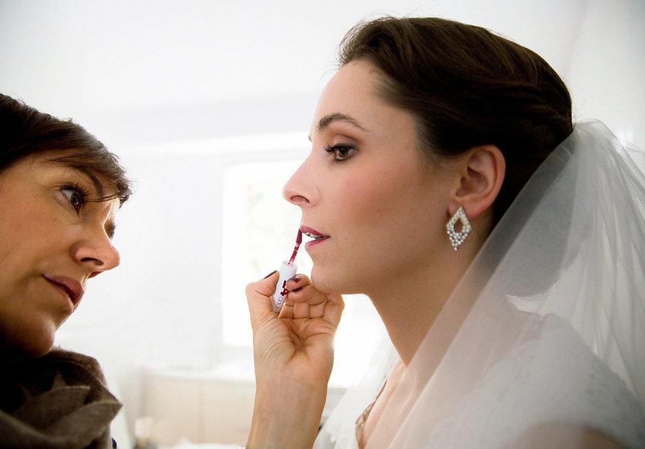 DIY Hochzeit auf Gut Wendgräben - Braut Make up