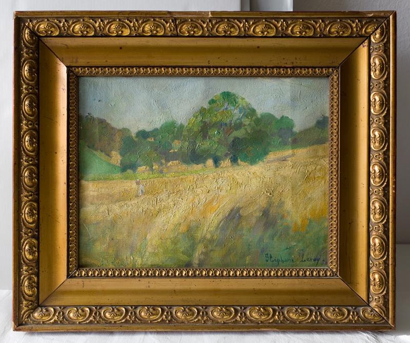 Landschaftsgemälde von S. Leroy