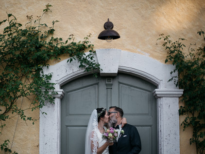 wedding in the castle of Rochlitz