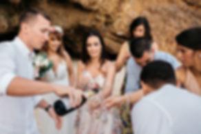 wedding_Hochzeit_Praia das Furnas_Portugal_Sektempfang_Hochzeitsreportage