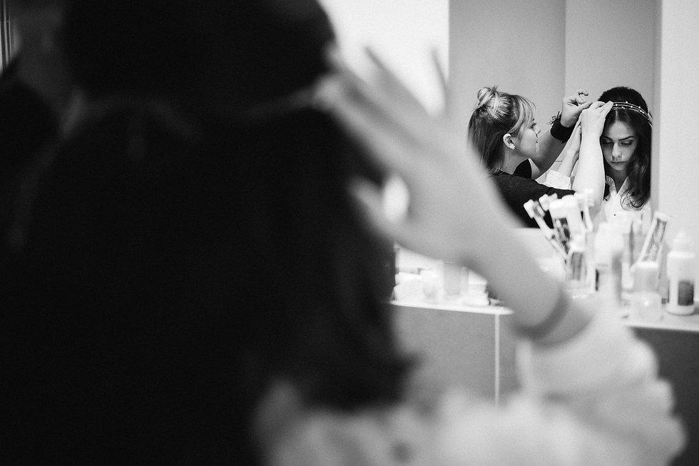Hochzeit in Dresden - Getting Ready im Lebendigen Haus