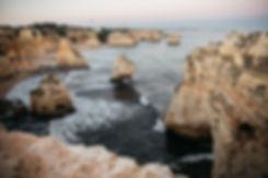 Praia da Marinha in Portugal an der Algarve