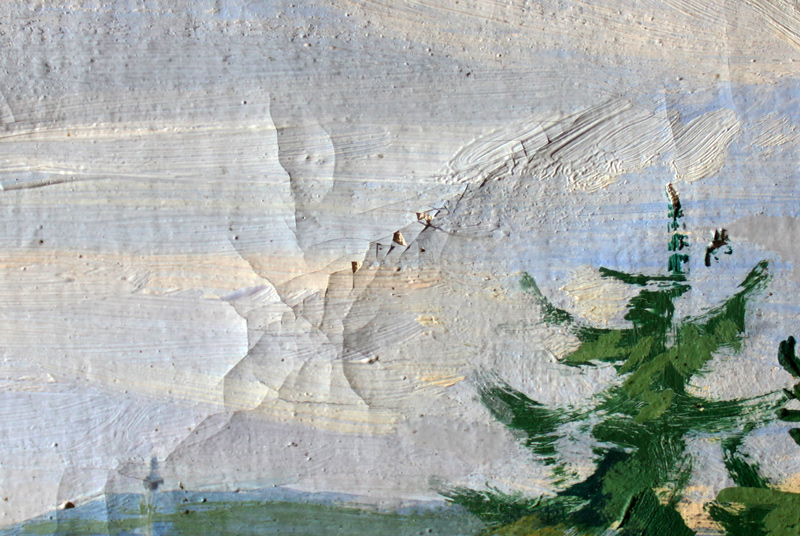 Landschaftsgemälde von Schoner