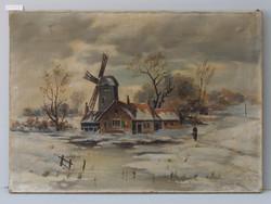 Winterlandschaft von R. Steinert