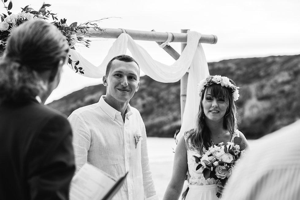 wedding_Hochzeit_Praia das Furnas_Portugal_Trauung_Strandhochzeit_Brautpaar