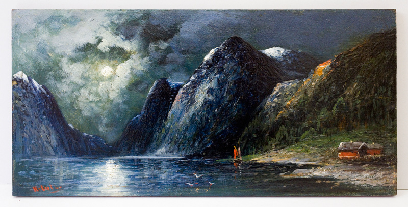 Gemälde I von R. Lutz