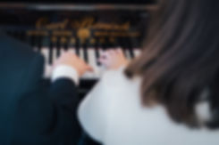 Hochzeit in Dresden - standesamtliche Trauung im Stadtmuseum in der Altstadt - Konzert am königlich sächsischen Flügel Rönisch