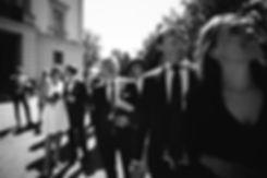 Brautpaar und Gäste - Hochzeit im May im Weißen Haus in Markkleeberg in Leipzig