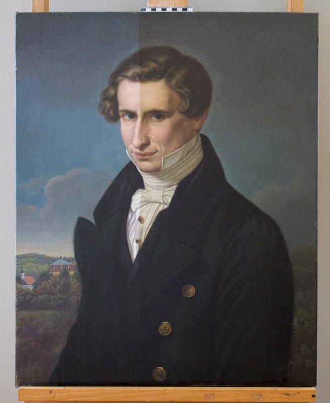 """Gemälde"""" Hans Conon v. der Gabelenz"""""""