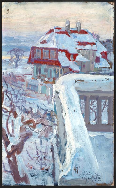 """""""Winter"""" von Osmar Schindler"""