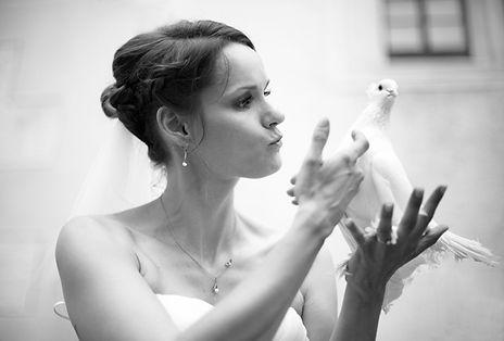 Hochzeit Schloss Colditz I Mandy Hellinger Fine Art Fotografie - Hochzeitstauben - Hochzeitsfotografie