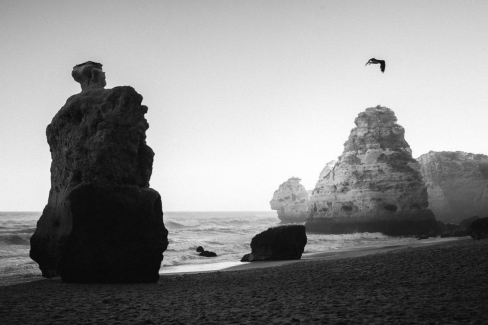 Praia da Marin4ha in Portugal an der Algarve