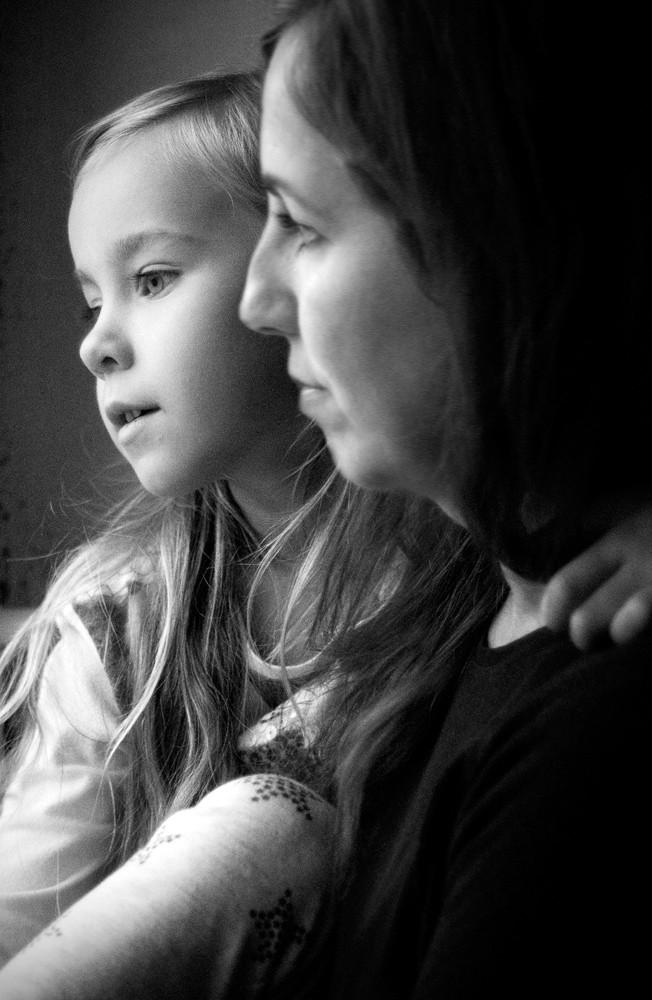 Porträt / Portrait Franzi und Ada / Familienfotografie