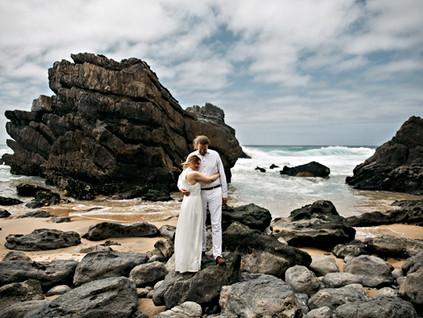 Hochzeit am Praia da Adraga in Portugal, Lissabon