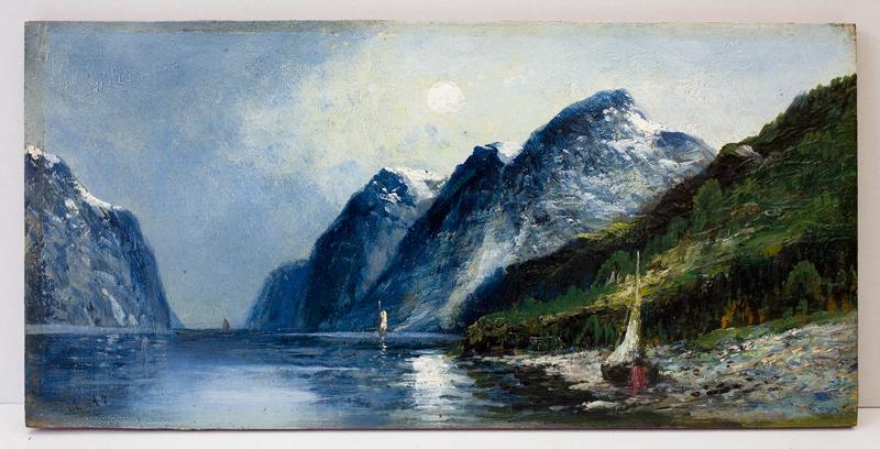 Gemälde II von R. Lutz