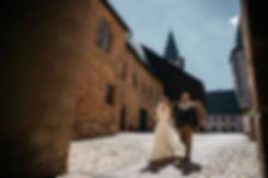 Hochzeitsfotografie Hochzeit Brautpaar Trauung im Schloss Rochlitz