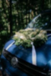 Hochzeitsfotografie Hochzeit Hochzeitsauto VW Bus Bulli