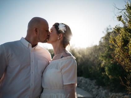 wedding at Praia da Marinha in the Algarve, Portugal