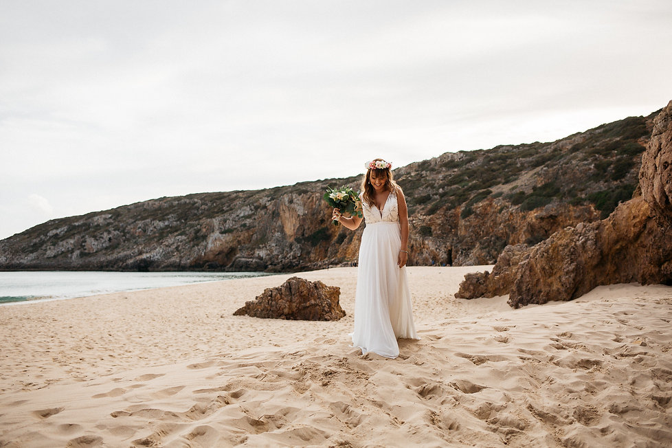 wedding_Hochzeit_Praia das Furnas_Portugal_Trauung_Strandhochzeit_Braut