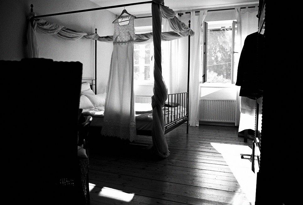 DIY Hochzeit auf Gut Wendgräben - Brautkleid