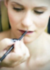 Hochzeit Schloss Colditz I Mandy Hellinger Fine Art Fotografie - getting ready / Hochzeitsvorbereitungen Make Up