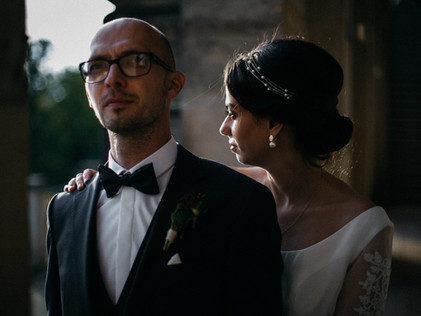 wedding in the old town of Dresden and the Lingner Castle