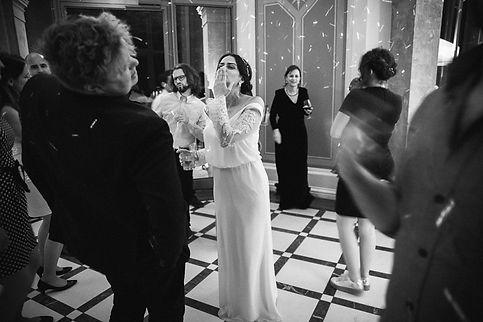 Hochzeit in Dresden am Weinberg - Hochzeitsfeier im Restaurant Lingnerterrassen im Lingnerschloss