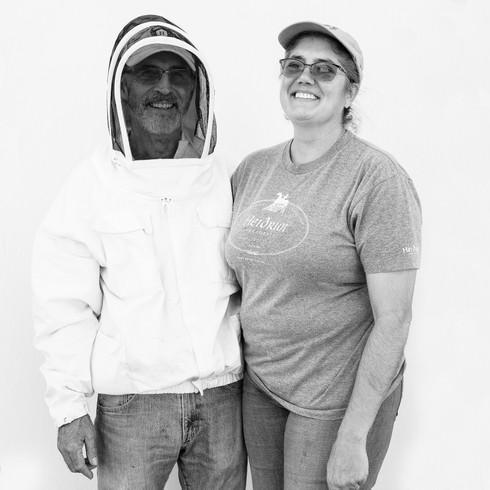 Bonnie & Gary of Bonnie Bee Farms