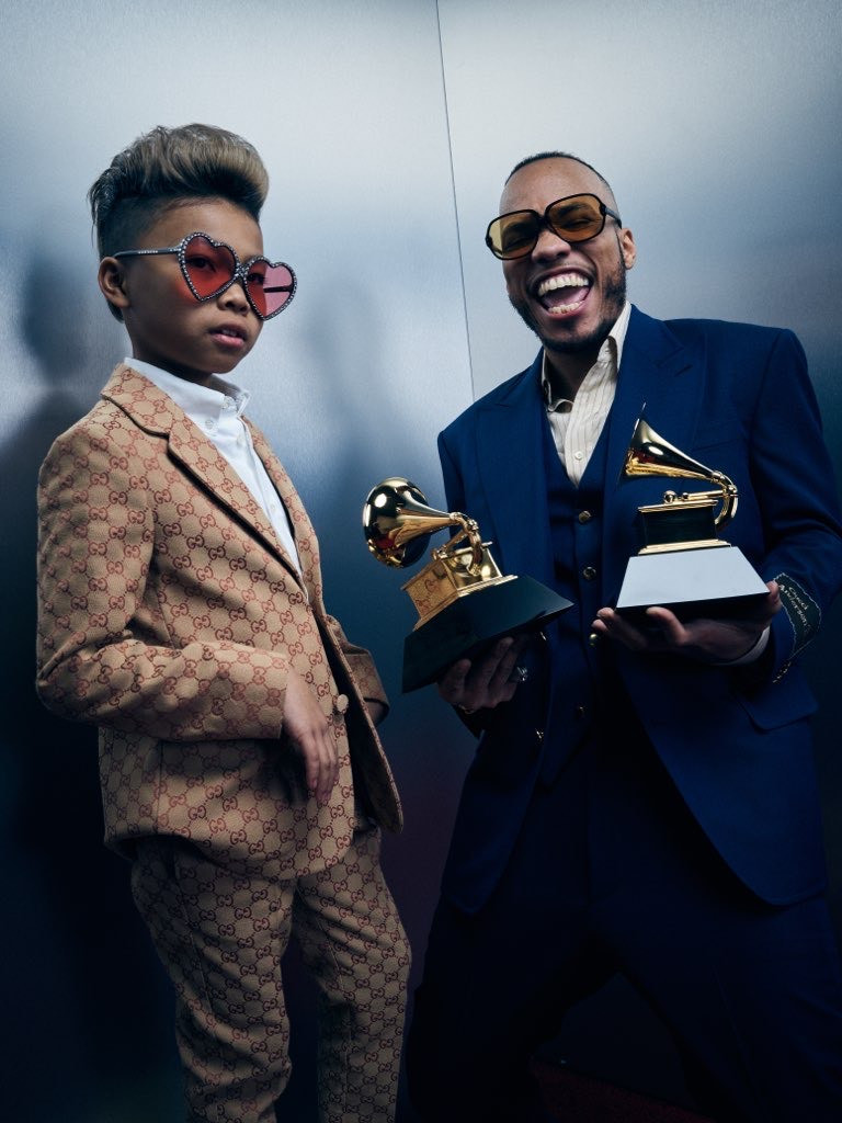 Anderson Paak Wins Two Grammys
