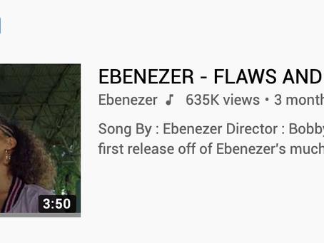 Ebenezer is YouTube's Trending Artist on the Rise!