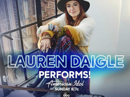 Lauren Daigle Performs on American Idol (5/17) #IdolFinale