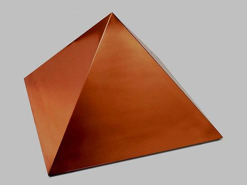 Pirâmide de Cobre Polida - 50 cm