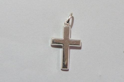 Cruz de prata - 2,5 cm